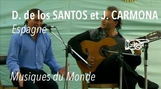 Concert Diego De Los Santos dit «Rubichi» et Juan Carmona