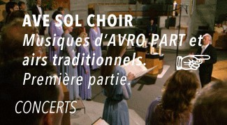 Concert Ave Sol Choir