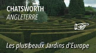 Le parc de Chatsworth Garden
