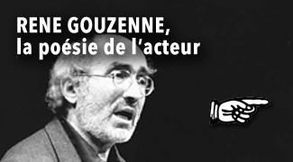 René Gouzenne la poésie d'un acteur