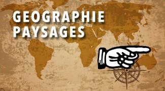 Géographie paysage
